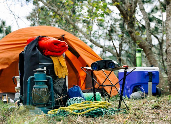 checklist para camping o que levar