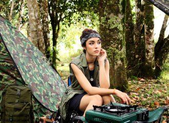Moda Militar Feminina